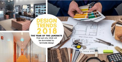 WHY 2018 WILL BE THE YEAR FOR LAMINATE DESIGN