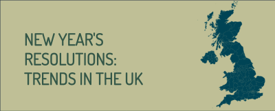 New Year's Resolutions: Trends in the UK